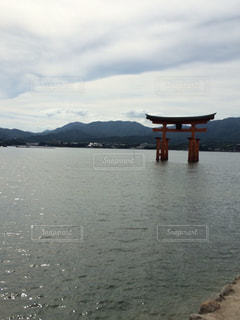 厳島神社の写真・画像素材[1031678]