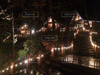 夜の街の景色の写真・画像素材[886041]