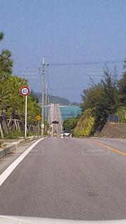 道の端にサイン - No.901611