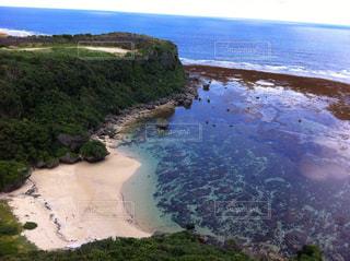 水の体の真ん中に島 - No.901641