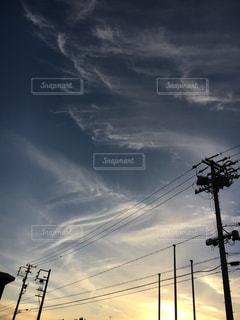 空には雲のグループ - No.961477