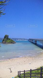 古宇利島大橋の写真・画像素材[1021317]