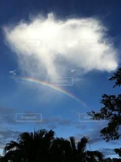空に虹の写真・画像素材[1116249]
