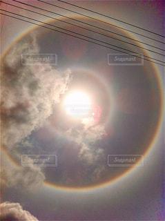 空,太陽,雲,沖縄,光,電線