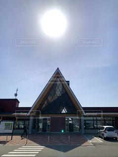 空,太陽,北海道,光,道の駅,北欧の風