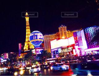 夜のライトアップの写真・画像素材[998629]