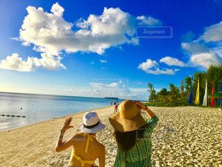 空と海の写真・画像素材[1095306]