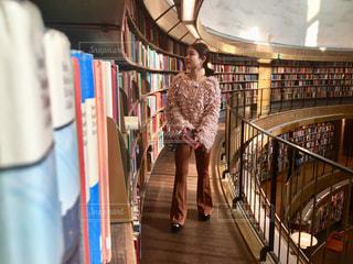 スウェーデンの図書館🇸🇪の写真・画像素材[1593045]