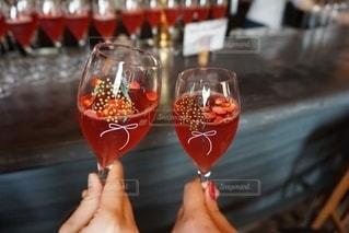 飲み物,赤,フラワー,グラス,カクテル,お祝い,乾杯,ドリンク