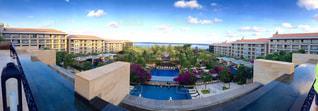 風景,海,緑,景色,ホテル,海外旅行,バリ,ムリアリゾート,360℃