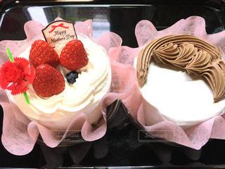 ケーキ,母の日,感謝,似顔絵ケーキ