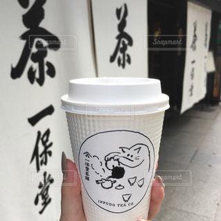 一杯のコーヒーの写真・画像素材[926325]