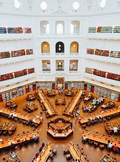 ヴィクトリア州立図書館の写真・画像素材[926410]