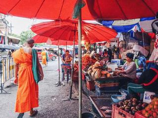 チェンマイの市場の写真・画像素材[1015033]
