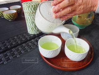 温かいお茶の写真・画像素材[1048286]
