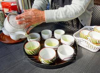 温かいお茶の時間の写真・画像素材[1048289]