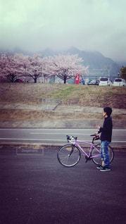 風景,桜,自転車,サイクリング,趣味,ロードバイク,おしゃれ