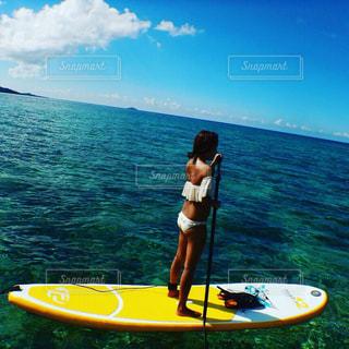 海,夏,水着,沖縄,ビキニ,マリンスポーツ,sup