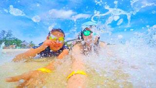 水遊びの写真・画像素材[652639]