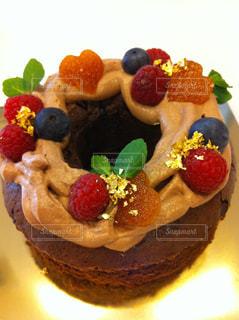 手作りケーキの写真・画像素材[843730]