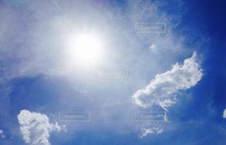 雲の上の写真・画像素材[1115217]