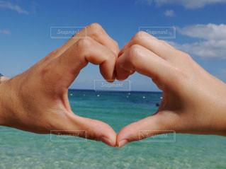 海,LOVE,綺麗,ツーショット