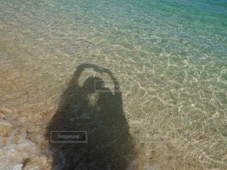 海,LOVE,綺麗,青,ツーショット