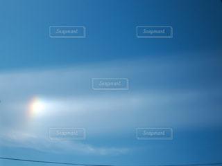 太陽の虹の写真・画像素材[2893714]