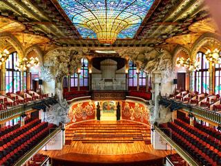 カタルーニャ音楽堂の写真・画像素材[2129934]