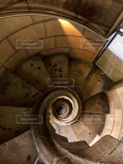 サグラダファミリアの螺旋階段の写真・画像素材[2147183]