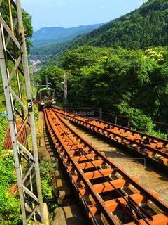 大山ケーブルカーの写真・画像素材[2220392]