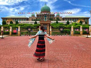 マレーシア首相官邸前での写真・画像素材[2383174]