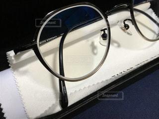鯖江で買った、お気に入りのメガネの写真・画像素材[2803407]