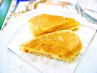 旅行,サンドイッチ,おいしい,キューバ,ハバナ,キューバサンド,ホテルイングラテラ,ハムチーズ,ラ・セビナジャ