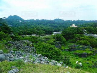 沖縄  今帰仁城址の写真・画像素材[783657]
