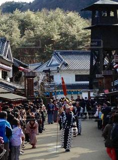 日光江戸村 花魁道中の写真・画像素材[789785]