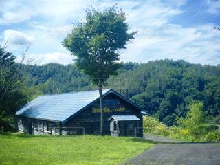 北海道 夕張 幸福の黄色いハンカチ想い出ひろばの写真・画像素材[800922]