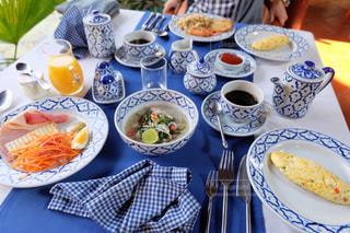 食事,朝食,屋外,海外,テーブル,旅行,ホテル,料理,朝ごはん,おいしい,美味しい,リゾート,休日,カンボジア,のんびり,食,ヘルシー,ブランチ,シェムリアップ,食材,アンコールヴィレッジホテル