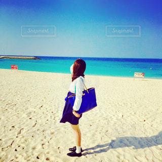 自然,海,空,青,沖縄,旅行,日本,気持ちいい