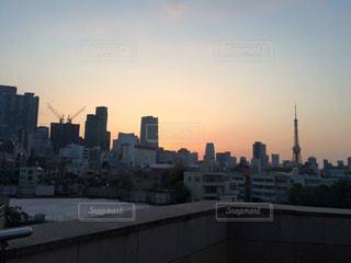 東京タワーの写真・画像素材[582840]