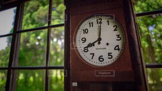 時計,学校,昔,時間,旧校舎,古時計,壁掛