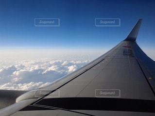 飛行機からの雲の写真・画像素材[2412413]