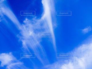 近くの青い空の写真・画像素材[1099808]