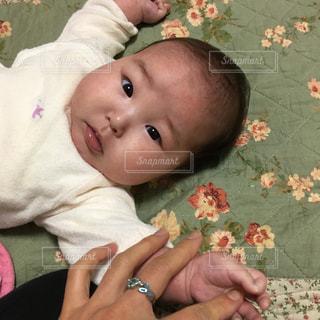 女の子,赤ちゃん,姪っ子,生後3ヶ月