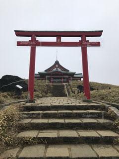 屋外,神社,地面,箱根,日中