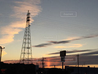 夕陽の写真・画像素材[2630962]