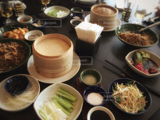 レストラン,ホテル,中国,中華料理,テーブルフォト,リゾート,北京ダック,オーシャンビュー,青島,チンタオ,ハイアットリージェンシー,Dong Hai 88