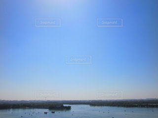 水の大きな体の写真・画像素材[802204]