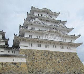大規模な石造りの建物の写真・画像素材[815718]