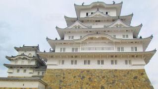 大きな白い建物の写真・画像素材[815721]